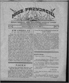 """Nasz Przyjaciel : dodatek tygodniowy """"Głosu Wąbrzeskiego"""" poświęcony sprawom oświatowym, kulturalnym i literackim 1932.04.16, R. 10, nr 15 [i.e. 16]"""