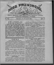 """Nasz Przyjaciel : dodatek tygodniowy """"Głosu Wąbrzeskiego"""" poświęcony sprawom oświatowym, kulturalnym i literackim 1932.04.30, R. 10, nr 18"""
