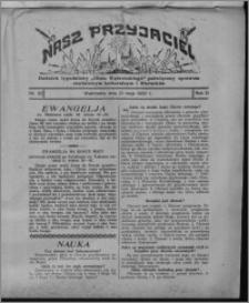 """Nasz Przyjaciel : dodatek tygodniowy """"Głosu Wąbrzeskiego"""" poświęcony sprawom oświatowym, kulturalnym i literackim 1932.05.21, R. 10, nr 22 [i.e. 21]"""
