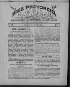 """Nasz Przyjaciel : dodatek tygodniowy """"Głosu Wąbrzeskiego"""" poświęcony sprawom oświatowym, kulturalnym i literackim 1932.05.28, R. 10, nr 23 [i.e. 22]"""