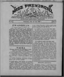 """Nasz Przyjaciel : dodatek tygodniowy """"Głosu Wąbrzeskiego"""" poświęcony sprawom oświatowym, kulturalnym i literackim 1932.07.23, R. 10, nr 31 [i.e. 30]"""