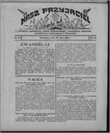 """Nasz Przyjaciel : dodatek tygodniowy """"Głosu Wąbrzeskiego"""" poświęcony sprawom oświatowym, kulturalnym i literackim 1932.07.30, R. 10, nr 32 [i.e. 31]"""
