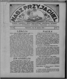 """Nasz Przyjaciel : dodatek tygodniowy """"Głosu Wąbrzeskiego"""" poświęcony sprawom oświatowym, kulturalnym i literackim 1932.08.27, R. 10, nr 36 [i.e. 35]"""