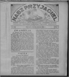 """Nasz Przyjaciel : dodatek tygodniowy """"Głosu Wąbrzeskiego"""" poświęcony sprawom oświatowym, kulturalnym i literackim 1932.09.10, R. 10, nr 38 [i.e. 37]"""