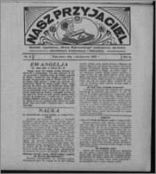 """Nasz Przyjaciel : dodatek tygodniowy """"Głosu Wąbrzeskiego"""" poświęcony sprawom oświatowym, kulturalnym i literackim 1932.10.01, R. 10, nr 41 [i.e. 40]"""