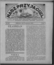 """Nasz Przyjaciel : dodatek tygodniowy """"Głosu Wąbrzeskiego"""" poświęcony sprawom oświatowym, kulturalnym i literackim 1932.10.08, R. 10, nr 42 [i.e. 41]"""