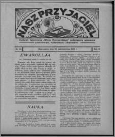 """Nasz Przyjaciel : dodatek tygodniowy """"Głosu Wąbrzeskiego"""" poświęcony sprawom oświatowym, kulturalnym i literackim 1932.10.22, R. 10, nr 44 [i.e. 43]"""