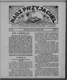 """Nasz Przyjaciel : dodatek tygodniowy """"Głosu Wąbrzeskiego"""" poświęcony sprawom oświatowym, kulturalnym i literackim 1932.11.26, R. 10, nr 49 [i.e. 48]"""