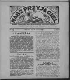 """Nasz Przyjaciel : dodatek tygodniowy """"Głosu Wąbrzeskiego"""" poświęcony sprawom oświatowym, kulturalnym i literackim 1932.12.17, R. 10, nr 52 [i.e. 51]"""