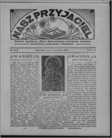 """Nasz Przyjaciel : dodatek tygodniowy """"Głosu Wąbrzeskiego"""" poświęcony sprawom oświatowym, kulturalnym i literackim 1932.12.24, R. 10, nr 53 [i.e. 52]"""