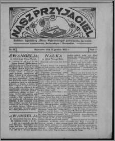 """Nasz Przyjaciel : dodatek tygodniowy """"Głosu Wąbrzeskiego"""" poświęcony sprawom oświatowym, kulturalnym i literackim 1932.12.31, R. 10, nr 54 [i.e. 53]"""