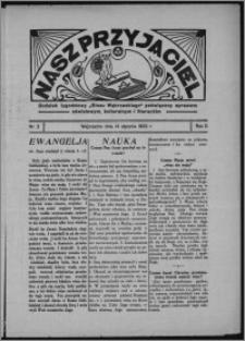 """Nasz Przyjaciel : dodatek tygodniowy """"Głosu Wąbrzeskiego"""" poświęcony sprawom oświatowym, kulturalnym i literackim 1933.01.14., R. 11, nr 2"""