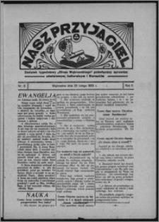 """Nasz Przyjaciel : dodatek tygodniowy """"Głosu Wąbrzeskiego"""" poświęcony sprawom oświatowym, kulturalnym i literackim 1933.02.25, R. 11, nr 8"""