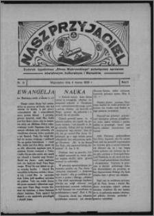 """Nasz Przyjaciel : dodatek tygodniowy """"Głosu Wąbrzeskiego"""" poświęcony sprawom oświatowym, kulturalnym i literackim 1933.03.04, R. 11, nr 9"""
