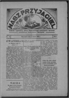 """Nasz Przyjaciel : dodatek tygodniowy """"Głosu Wąbrzeskiego"""" poświęcony sprawom oświatowym, kulturalnym i literackim 1933.03.11, R. 11, nr 10"""