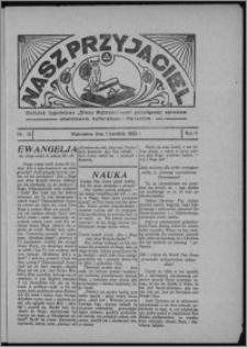 """Nasz Przyjaciel : dodatek tygodniowy """"Głosu Wąbrzeskiego"""" poświęcony sprawom oświatowym, kulturalnym i literackim 1933.04.01, R. 11, nr 13"""