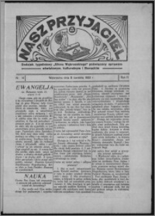 """Nasz Przyjaciel : dodatek tygodniowy """"Głosu Wąbrzeskiego"""" poświęcony sprawom oświatowym, kulturalnym i literackim 1933.04.08, R. 11, nr 14"""