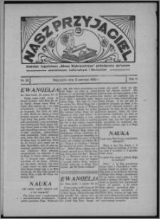 """Nasz Przyjaciel : dodatek tygodniowy """"Głosu Wąbrzeskiego"""" poświęcony sprawom oświatowym, kulturalnym i literackim 1933.06.03, R. 11, nr 22"""