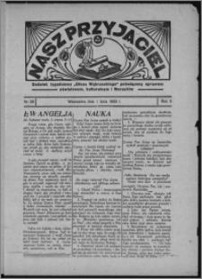 """Nasz Przyjaciel : dodatek tygodniowy """"Głosu Wąbrzeskiego"""" poświęcony sprawom oświatowym, kulturalnym i literackim 1933.07.01, R. 11, nr 26"""