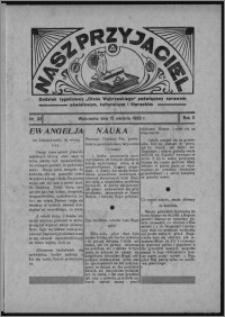 """Nasz Przyjaciel : dodatek tygodniowy """"Głosu Wąbrzeskiego"""" poświęcony sprawom oświatowym, kulturalnym i literackim 1933.08.12, R. 11, nr 33"""