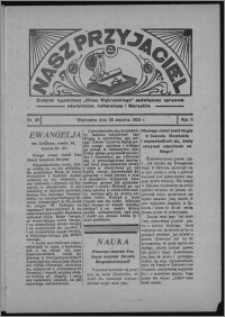 """Nasz Przyjaciel : dodatek tygodniowy """"Głosu Wąbrzeskiego"""" poświęcony sprawom oświatowym, kulturalnym i literackim 1933.08.26, R. 11, nr 35"""