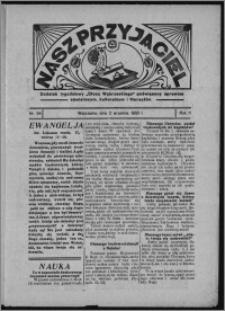 """Nasz Przyjaciel : dodatek tygodniowy """"Głosu Wąbrzeskiego"""" poświęcony sprawom oświatowym, kulturalnym i literackim 1933.09.02, R. 11, nr 54 [i.e. 36]"""