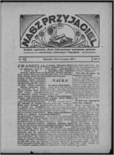 """Nasz Przyjaciel : dodatek tygodniowy """"Głosu Wąbrzeskiego"""" poświęcony sprawom oświatowym, kulturalnym i literackim 1933.09.09, R. 11, nr 55 [i.e. 37]"""
