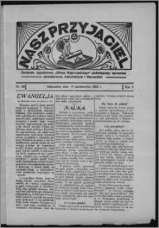 """Nasz Przyjaciel : dodatek tygodniowy """"Głosu Wąbrzeskiego"""" poświęcony sprawom oświatowym, kulturalnym i literackim 1933.10.14, R. 11, nr 59 [i.e. 42]"""