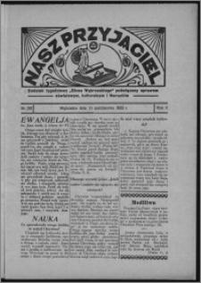 """Nasz Przyjaciel : dodatek tygodniowy """"Głosu Wąbrzeskiego"""" poświęcony sprawom oświatowym, kulturalnym i literackim 1933.10.21, R. 11, nr 60 [i.e. 43]"""
