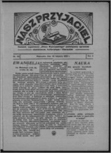 """Nasz Przyjaciel : dodatek tygodniowy """"Głosu Wąbrzeskiego"""" poświęcony sprawom oświatowym, kulturalnym i literackim 1933.11.18, R. 11, nr 64 [i.e. 47]"""
