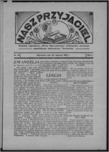 """Nasz Przyjaciel : dodatek tygodniowy """"Głosu Wąbrzeskiego"""" poświęcony sprawom oświatowym, kulturalnym i literackim 1933.11.25, R. 11, nr 48"""