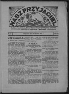 """Nasz Przyjaciel : dodatek tygodniowy """"Głosu Wąbrzeskiego"""" poświęcony sprawom oświatowym, kulturalnym i literackim 1934.01.20, R. 12, nr 3"""