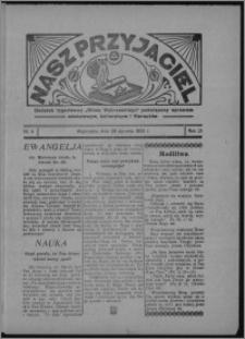 """Nasz Przyjaciel : dodatek tygodniowy """"Głosu Wąbrzeskiego"""" poświęcony sprawom oświatowym, kulturalnym i literackim 1934.01.27, R. 12, nr 4"""
