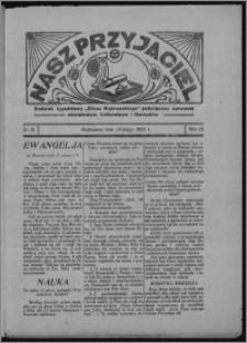 """Nasz Przyjaciel : dodatek tygodniowy """"Głosu Wąbrzeskiego"""" poświęcony sprawom oświatowym, kulturalnym i literackim 1934.02.24, R. 12, nr 8"""