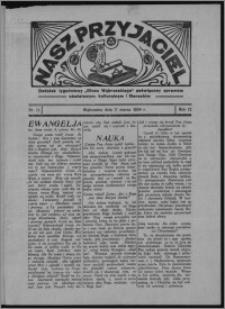 """Nasz Przyjaciel : dodatek tygodniowy """"Głosu Wąbrzeskiego"""" poświęcony sprawom oświatowym, kulturalnym i literackim 1934.03.17, R. 12, nr 11"""