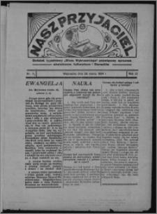 """Nasz Przyjaciel : dodatek tygodniowy """"Głosu Wąbrzeskiego"""" poświęcony sprawom oświatowym, kulturalnym i literackim 1934.03.24, R. 12, nr 21 [i.e. 12]"""