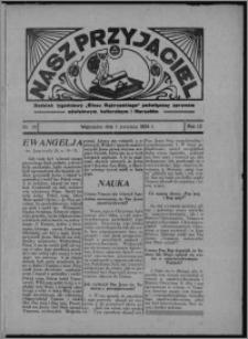 """Nasz Przyjaciel : dodatek tygodniowy """"Głosu Wąbrzeskiego"""" poświęcony sprawom oświatowym, kulturalnym i literackim 1934.04.07, R. 12, nr 23 [i.e. 14]"""