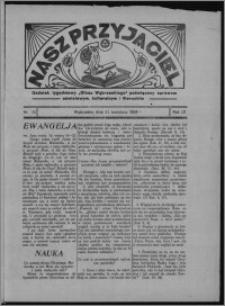 """Nasz Przyjaciel : dodatek tygodniowy """"Głosu Wąbrzeskiego"""" poświęcony sprawom oświatowym, kulturalnym i literackim 1934.04.21, R. 12, nr 25 [i.e. 16]"""