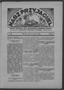 """Nasz Przyjaciel : dodatek tygodniowy """"Głosu Wąbrzeskiego"""" poświęcony sprawom oświatowym, kulturalnym i literackim 1934.04.28, R. 12, nr 26 [i.e. 17]"""