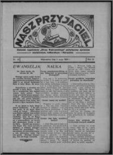 """Nasz Przyjaciel : dodatek tygodniowy """"Głosu Wąbrzeskiego"""" poświęcony sprawom oświatowym, kulturalnym i literackim 1934.05.05, R. 12, nr 26 [i.e. 18]"""