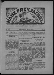 """Nasz Przyjaciel : dodatek tygodniowy """"Głosu Wąbrzeskiego"""" poświęcony sprawom oświatowym, kulturalnym i literackim 1934.05.26, R. 12, nr 29 [i.e. 21]"""