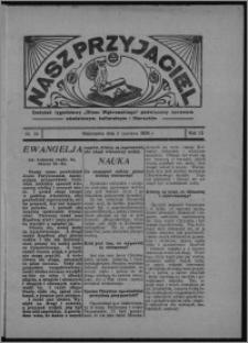 """Nasz Przyjaciel : dodatek tygodniowy """"Głosu Wąbrzeskiego"""" poświęcony sprawom oświatowym, kulturalnym i literackim 1934.06.02, R. 12, nr 30 [i.e. 22]"""