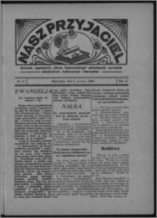 """Nasz Przyjaciel : dodatek tygodniowy """"Głosu Wąbrzeskiego"""" poświęcony sprawom oświatowym, kulturalnym i literackim 1934.06.09, R. 12, nr 31 [i.e. 23]"""