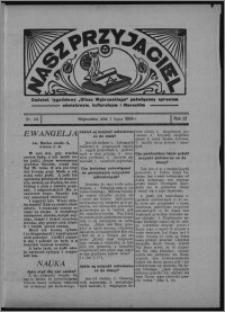 """Nasz Przyjaciel : dodatek tygodniowy """"Głosu Wąbrzeskiego"""" poświęcony sprawom oświatowym, kulturalnym i literackim 1934.06.30, R. 12, nr 24 [i.e. 26]"""