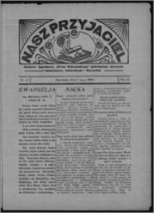 """Nasz Przyjaciel : dodatek tygodniowy """"Głosu Wąbrzeskiego"""" poświęcony sprawom oświatowym, kulturalnym i literackim 1934.07.07, R. 12, nr 25 [i.e. 27]"""