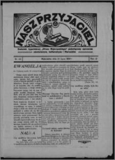 """Nasz Przyjaciel : dodatek tygodniowy """"Głosu Wąbrzeskiego"""" poświęcony sprawom oświatowym, kulturalnym i literackim 1934.07.28, R. 12, nr 28 [i.e. 30]"""