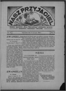 """Nasz Przyjaciel : dodatek tygodniowy """"Głosu Wąbrzeskiego"""" poświęcony sprawom oświatowym, kulturalnym i literackim 1934.08.18, R. 12, nr 31 [i.e. 33]"""