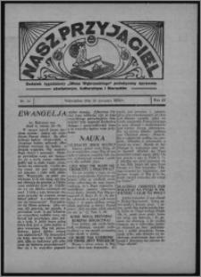 """Nasz Przyjaciel : dodatek tygodniowy """"Głosu Wąbrzeskiego"""" poświęcony sprawom oświatowym, kulturalnym i literackim 1934.08.25, R. 12, nr 32 [i.e. 34]"""