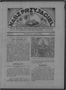 """Nasz Przyjaciel : dodatek tygodniowy """"Głosu Wąbrzeskiego"""" poświęcony sprawom oświatowym, kulturalnym i literackim 1934.12.01, R. 15 [i.e. 12], nr 50 [i.e. 48]"""