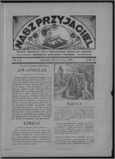 """Nasz Przyjaciel : dodatek tygodniowy """"Głosu Wąbrzeskiego"""" poświęcony sprawom oświatowym, kulturalnym i literackim 1934.12.15, R. 15 [i.e.12], nr 52 [i.e. 50]"""